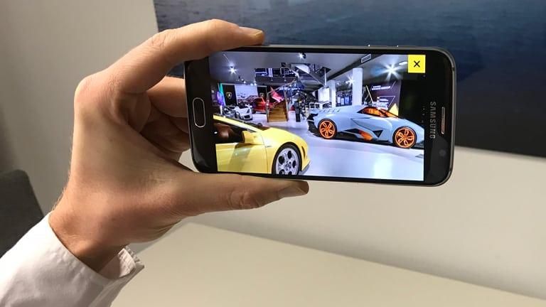 Augmented Reality Lamborghini AR Museum
