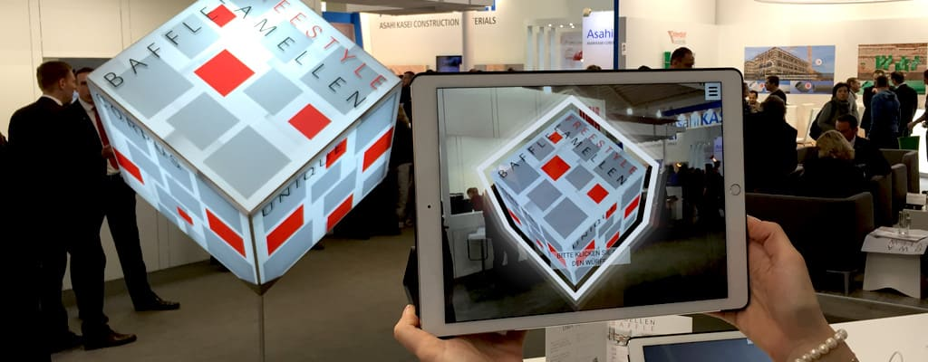 Augmented Reality at trade shows, exhibitions and fairs